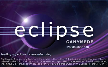 eclipse-3.4 splash screen