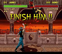 Mortal Kombat - Finish Him